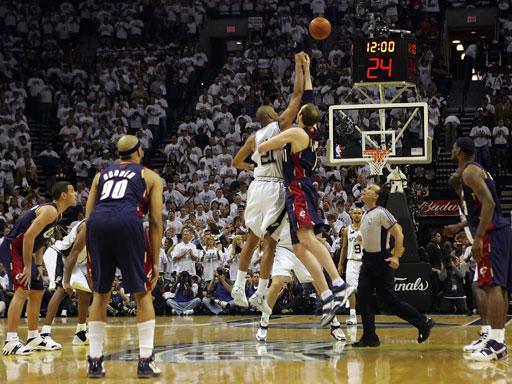 2007 Nba Finals 2007 Nba Finals Game One
