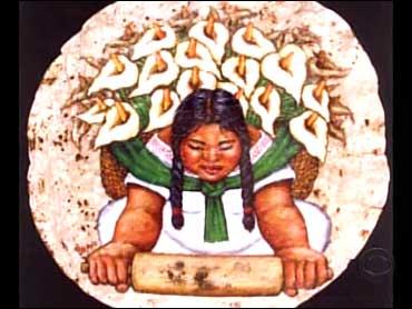 Tortilla Art Ultimate In Good Taste Cbs News
