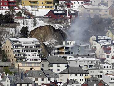 5 feared dead in norway building collapse cbs news. Black Bedroom Furniture Sets. Home Design Ideas