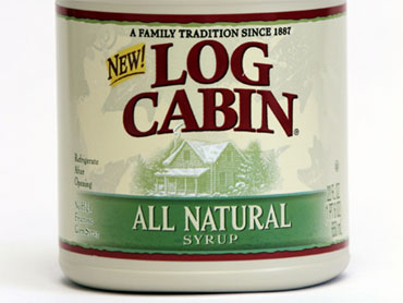Log Cabin S All Natural Syrup
