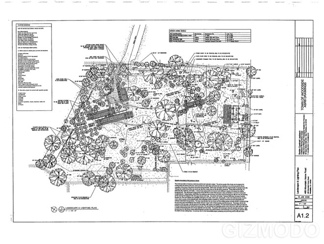 Plans for steve jobs 39 new house photo 1 pictures cbs for Modern homes jobs