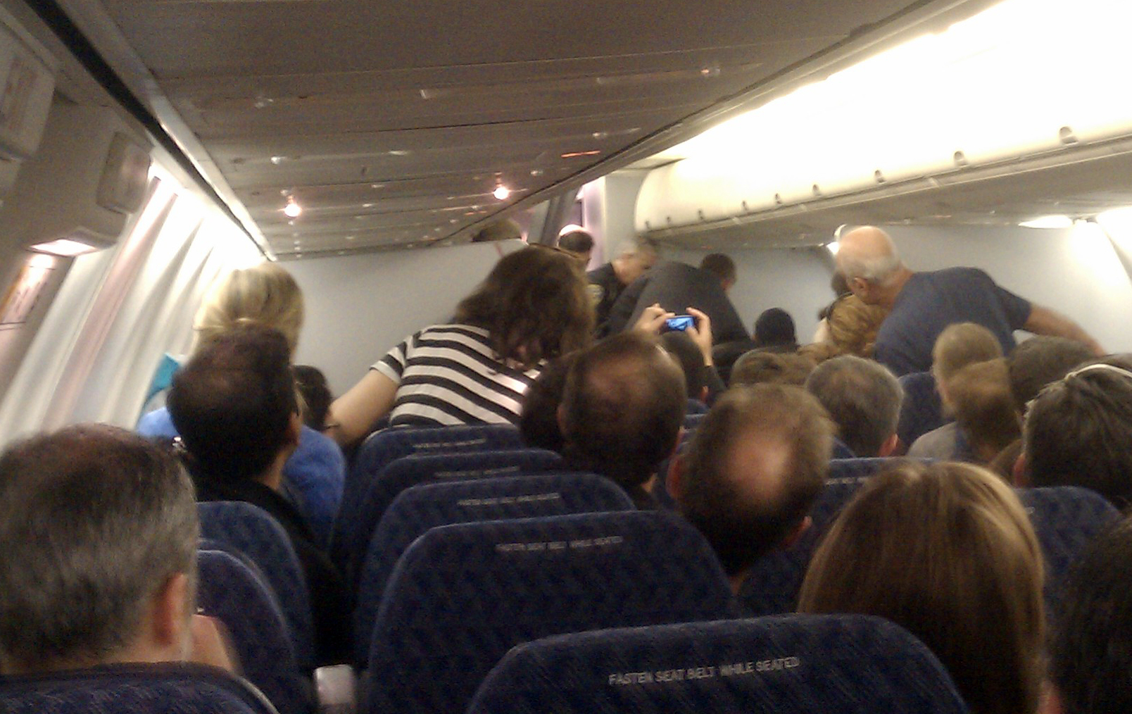 No bail for man who tried to rush plane cockpit - CBS News |American Airlines Flight 11 Passengers