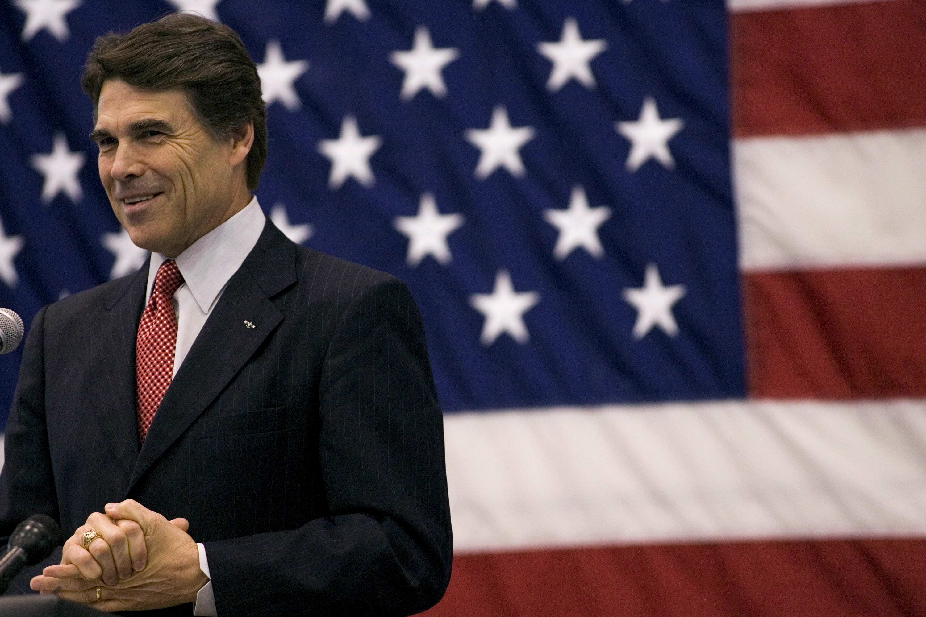 rick perry strong To use hate and bigotry to spread a political message named after republican presidential candidate rick perry's infamous video/ad of the same name.