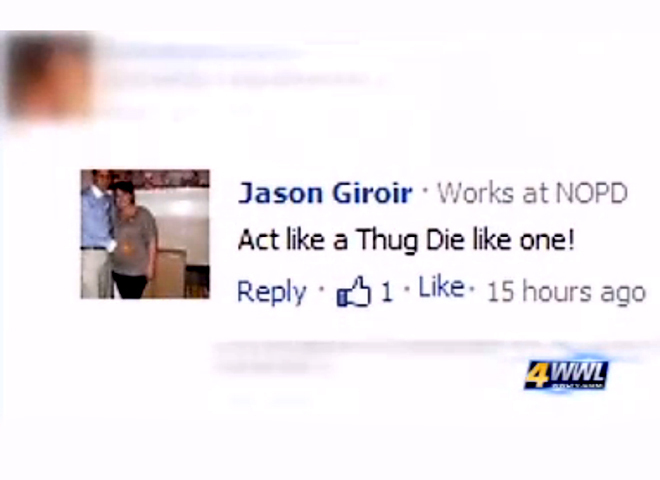 New Orleans Cop Resigns After Trayvon Comments Cbs News