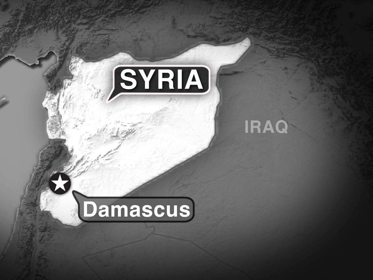 syria tv helicopter clipped tail of passenger jet cbs news