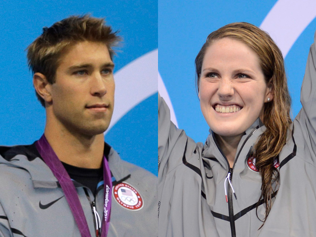 Americans Missy Franklin and Matt Grevers win gold in ...