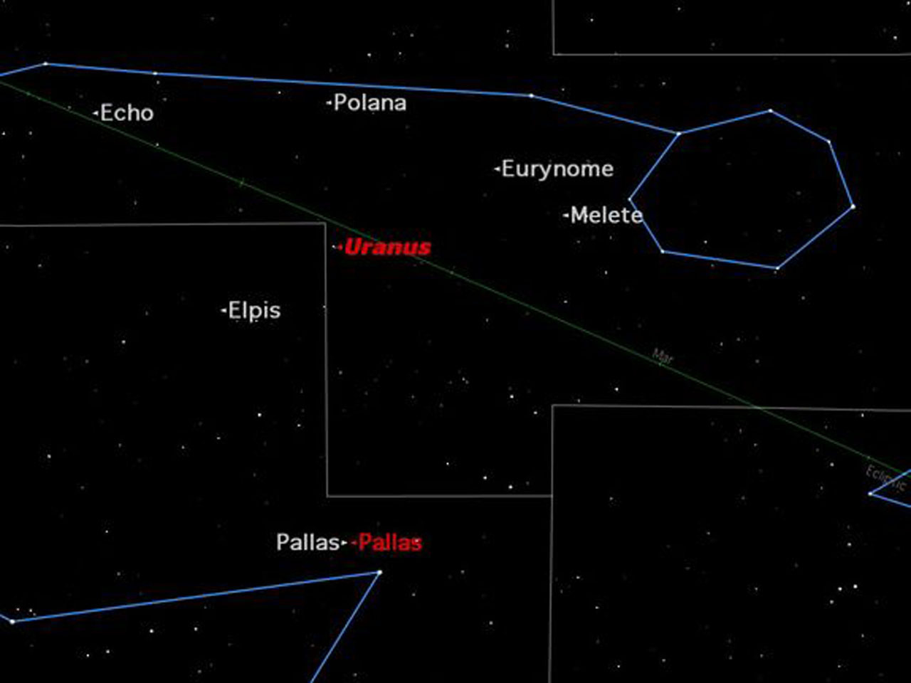 asteroid in the sky - photo #23