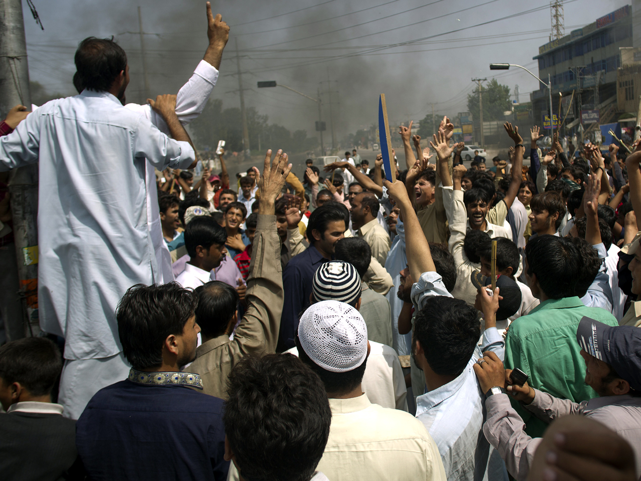 Protest News: Muslim Protesters Think Locally, Rage Globally