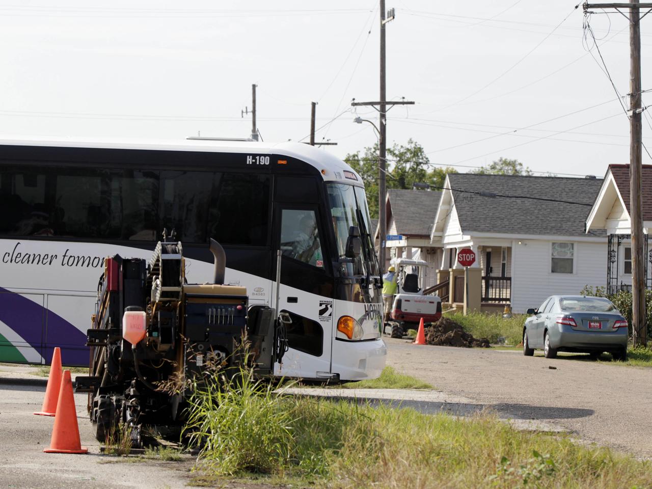 New Orleans Bus Tours Katrina