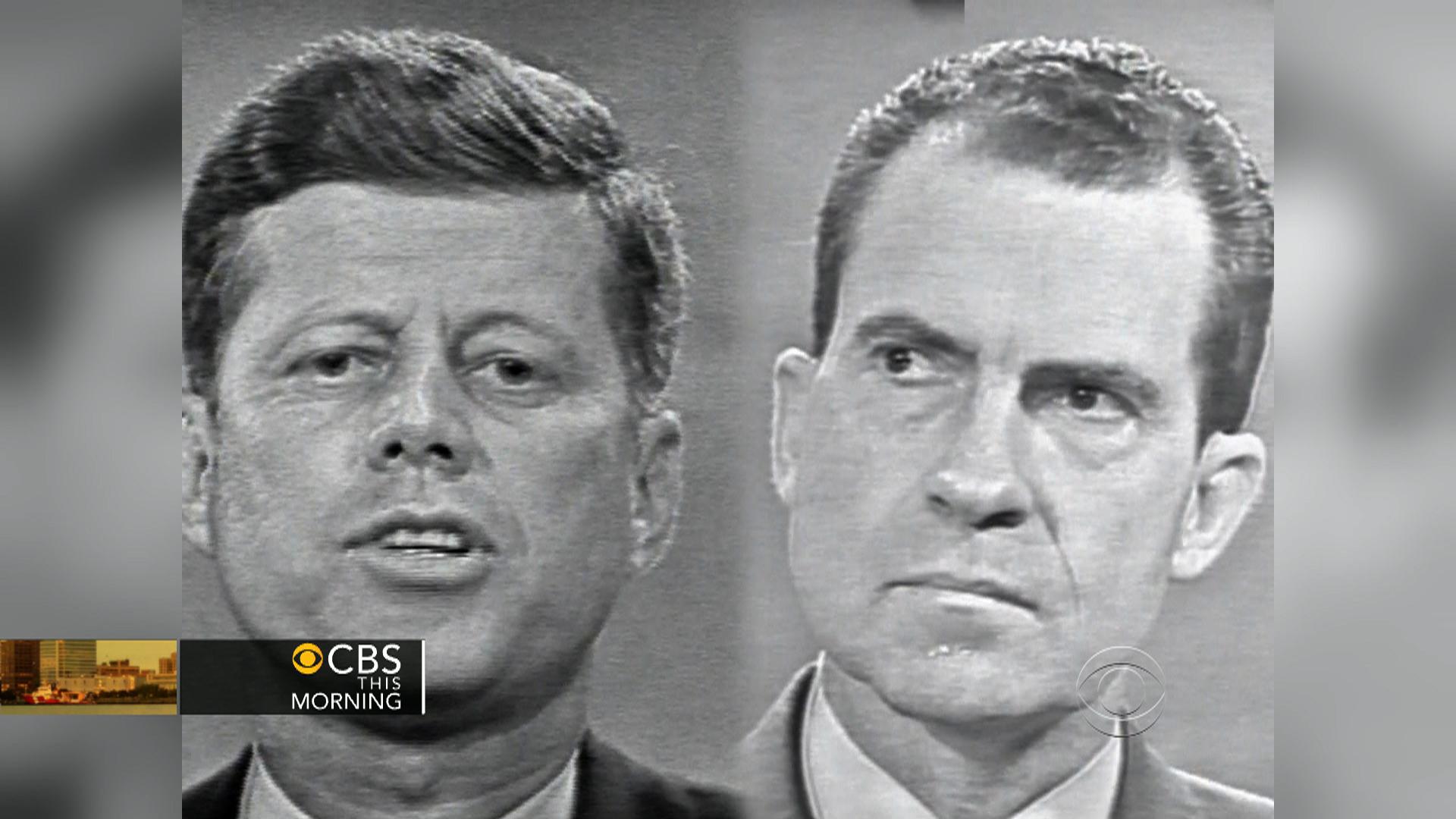 White House tapes reveal JFK debate haunted Nixon - CBS News