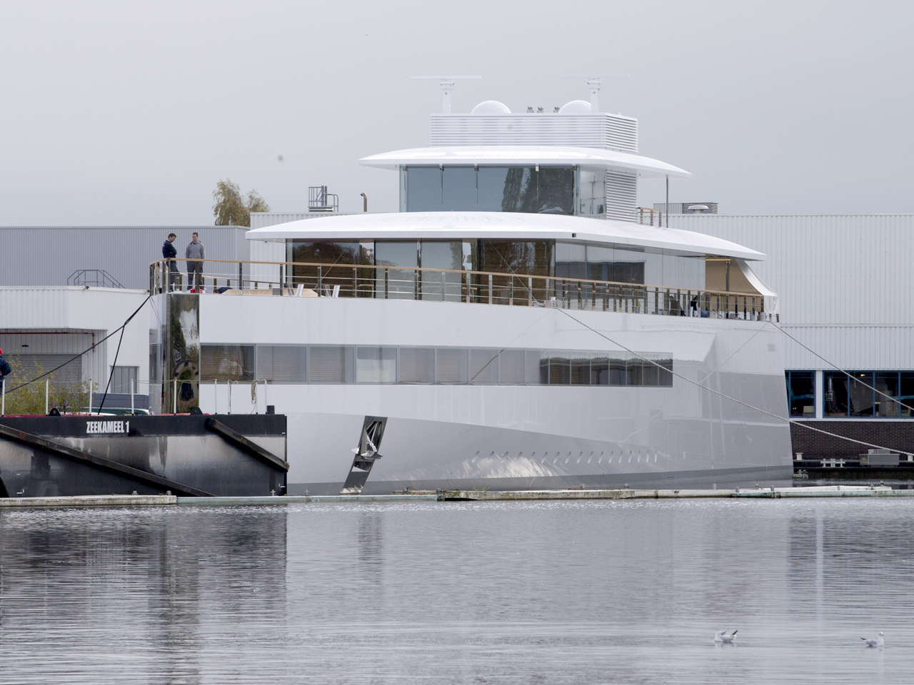 Steve jobs designed yacht launched in the netherlands for Product design jobs amsterdam