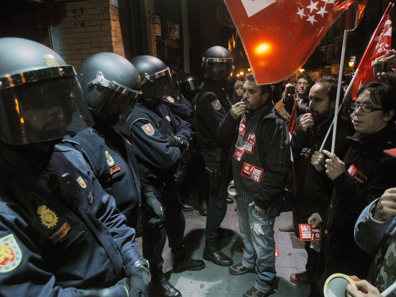 Austerity protests stall several European nations ...