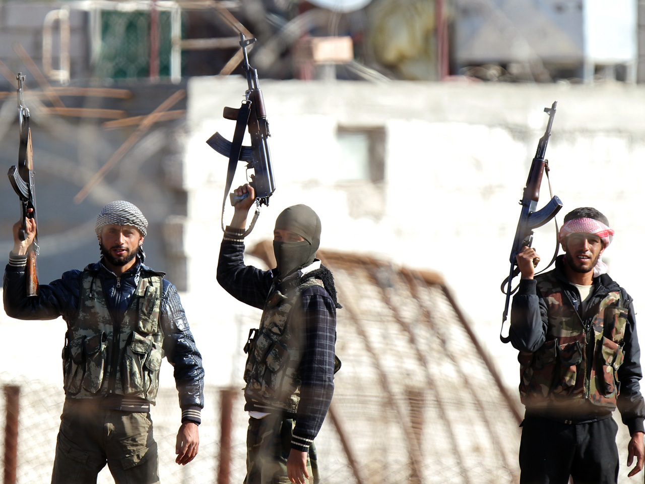 Syria opposition launch new offensive against regime in
