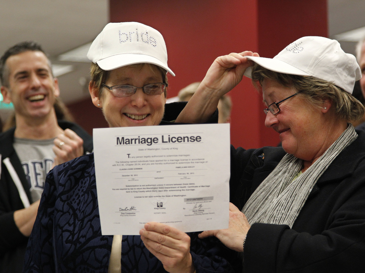 """same sex marriage a federal duty There are no special procedures for a same-sex marriage  """"[l]awful parentage,  and its associated rights and responsibilities, is conferred by  to legally married  same-sex spouses of federal employees and annuitants."""