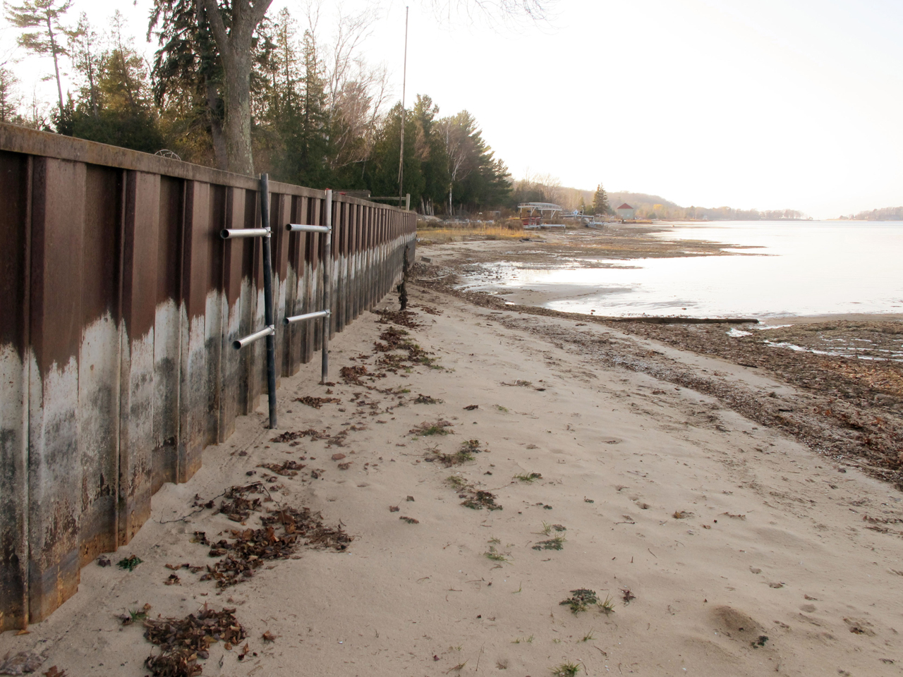 two great lakes at shallowest levels ever recorded