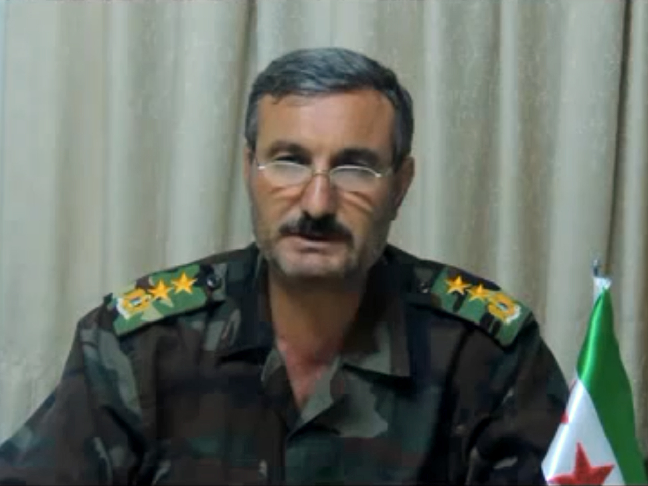 Syria rebel leader Col. Riad al-Asaad wounded in attack ...