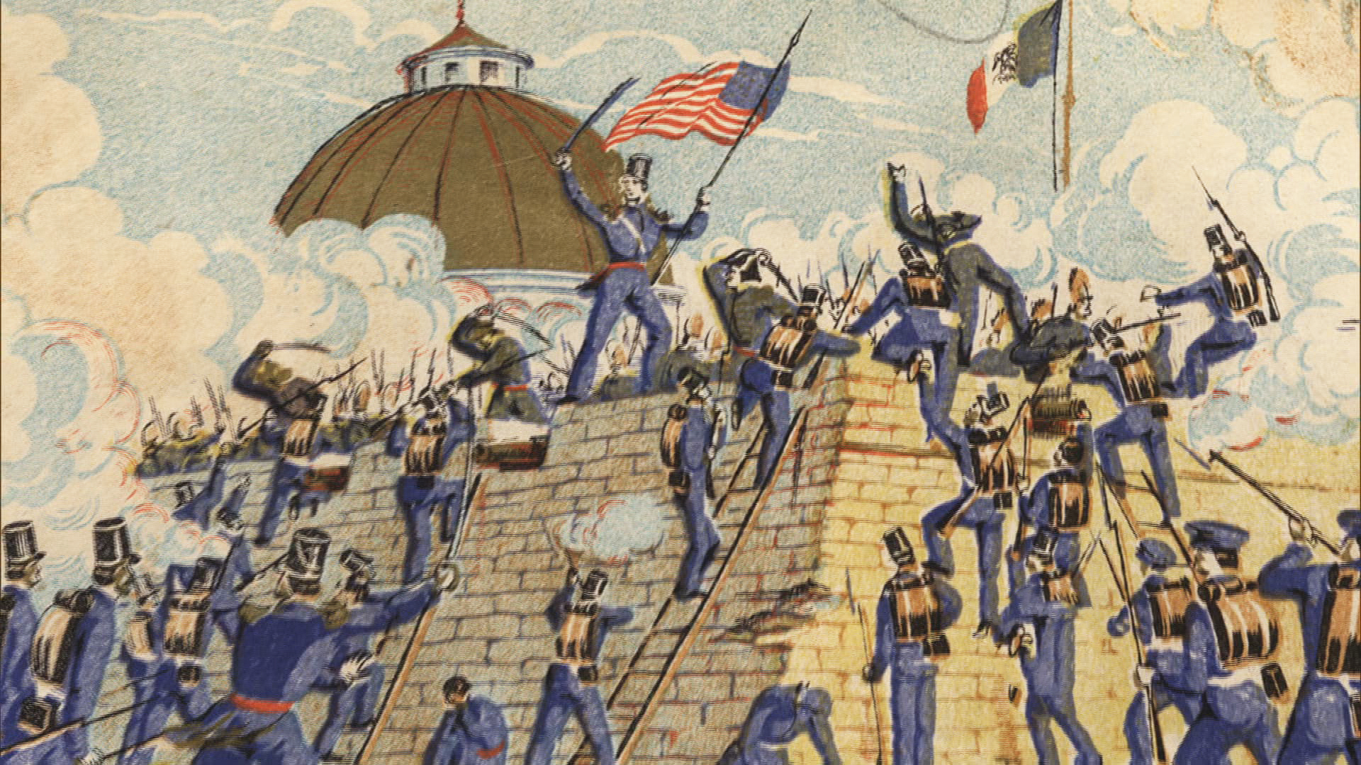 a history of the mexican american war in 1848 The mexican–american war, 1846–1848 after the united states annexed texas in 1845, border disputes led to war with mexico in 1846.