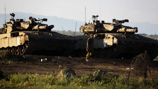 Mortar Shell Logo : Syrian mortar shell lands in golan heights israel cbs news