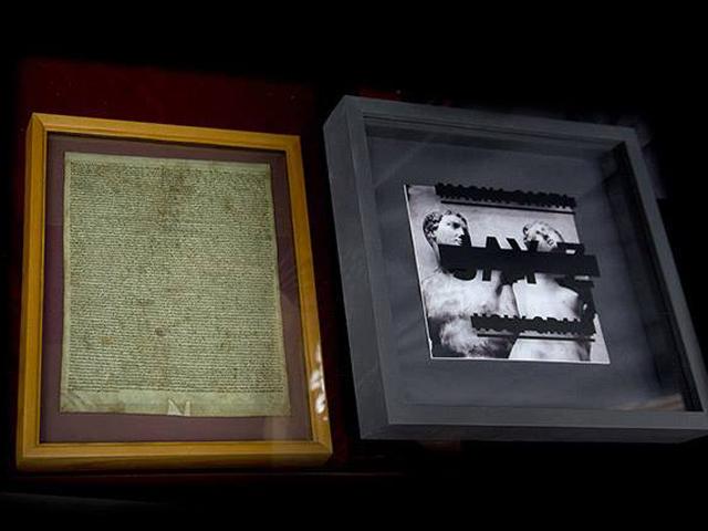 Magna carta holy grail artwork