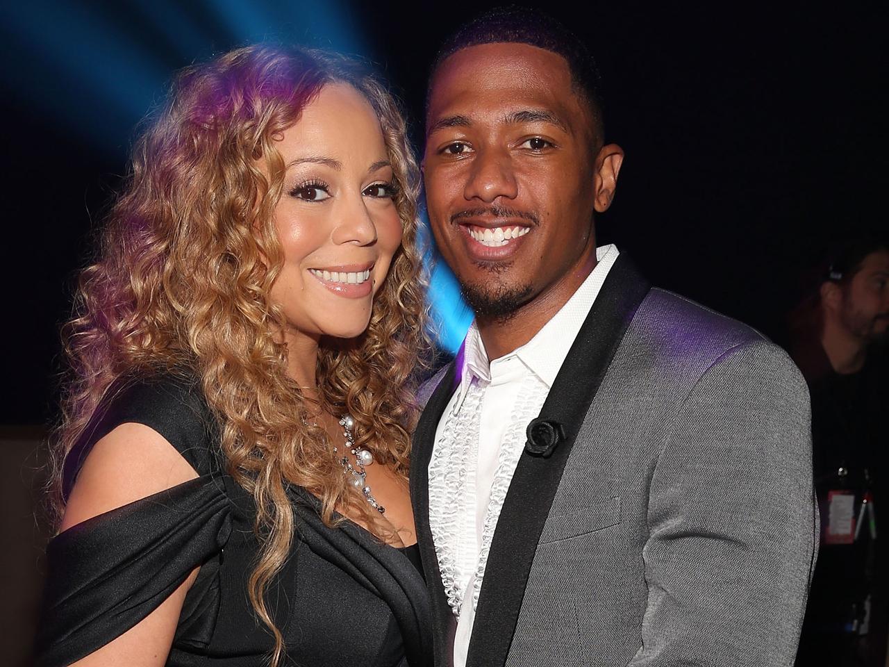 Mariah Carey Boyfriend 2013 Nick Cannon gives Mari...