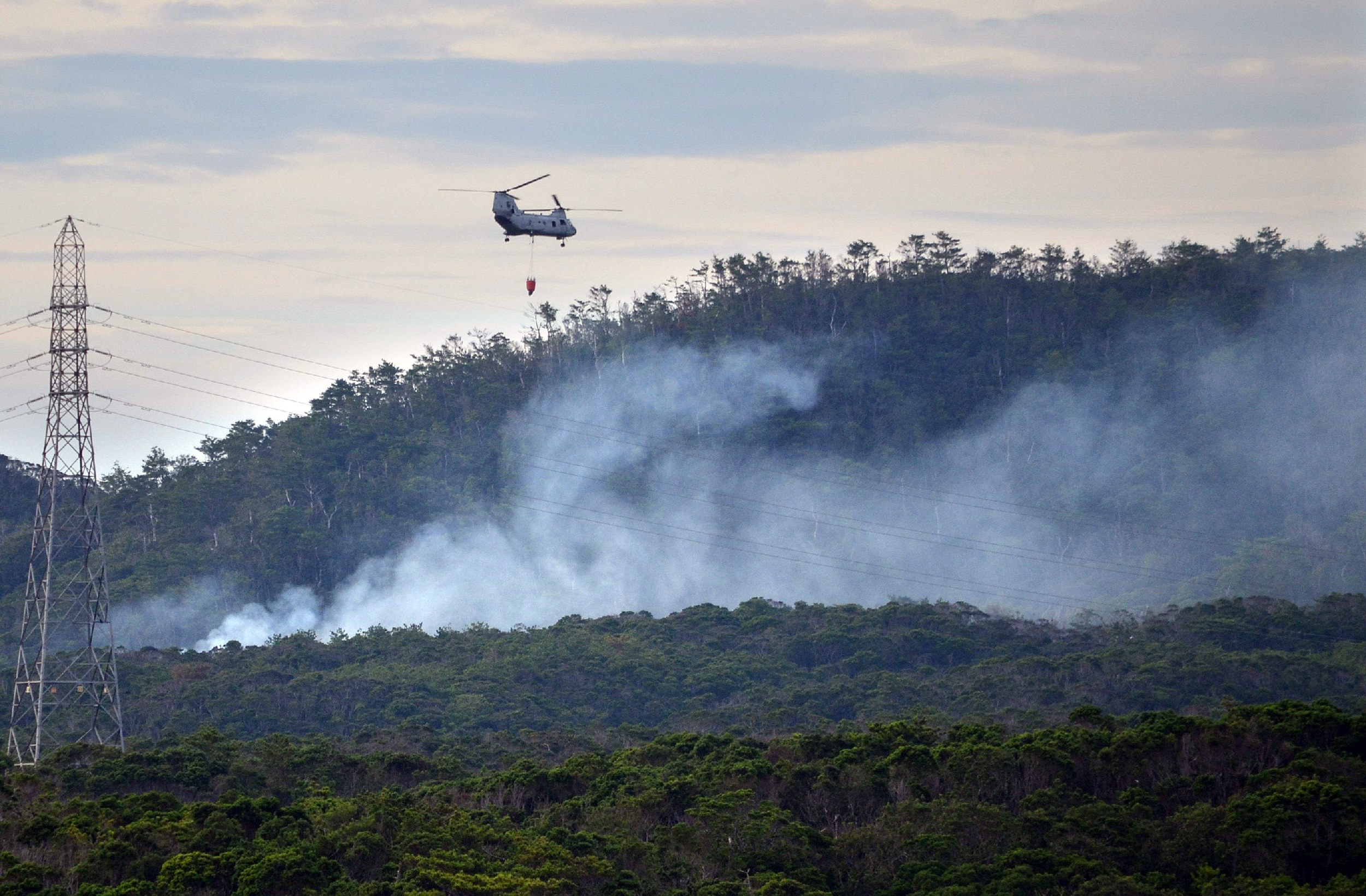 U.S. military helicopter crashes during training exercise ...