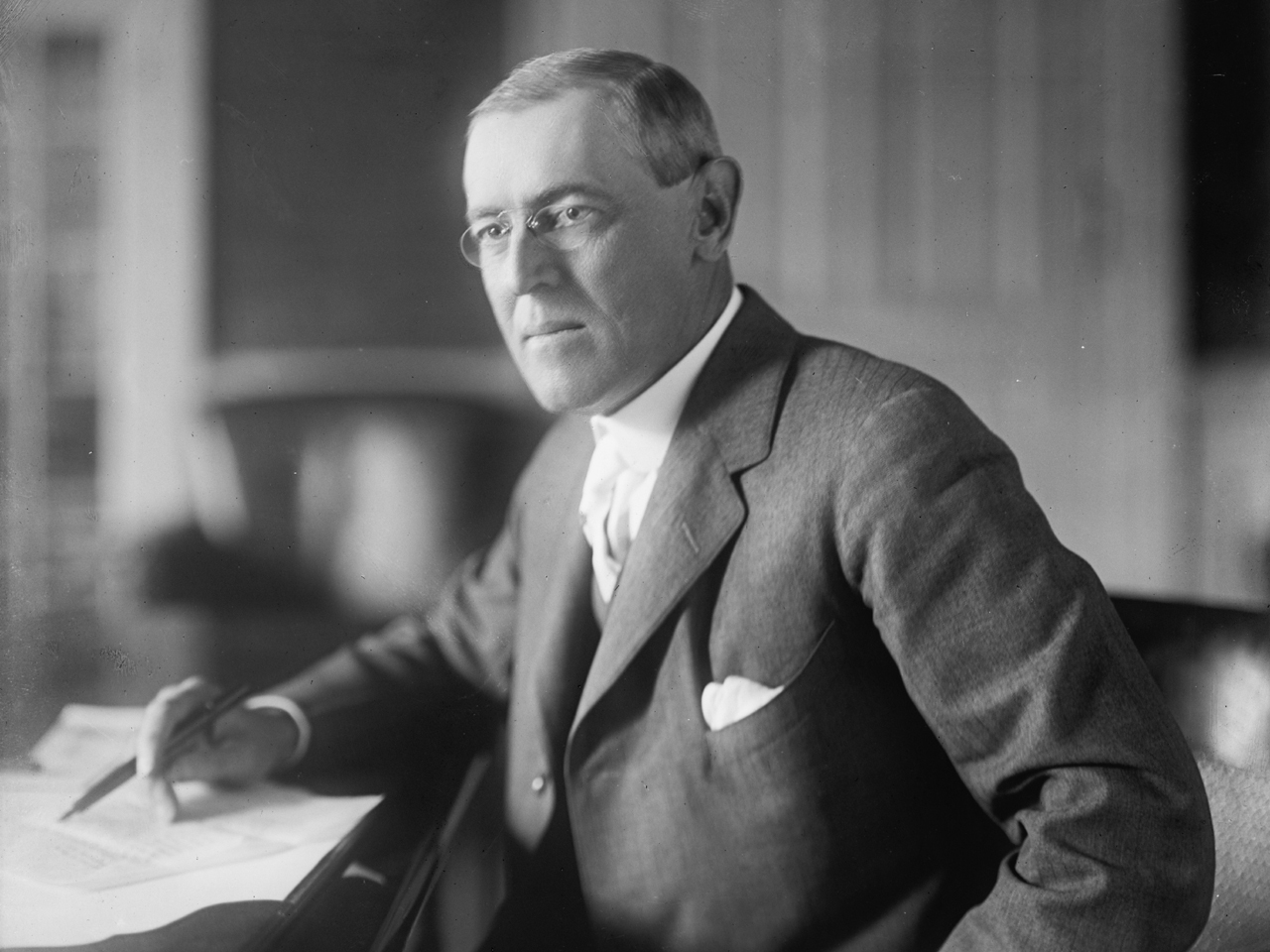 the life and works of president woodrow thomas wilson Thomas woodrow wilson is born thomas woodrow wilson was born on december 28, 1856, in staunton, virginia the twenty-eighth president of the united states, wilson served two.