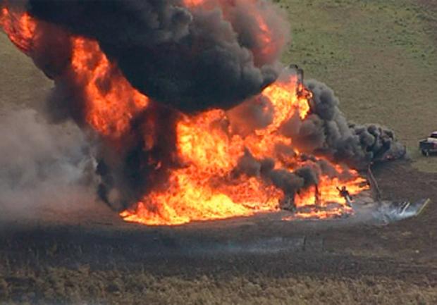 Natural Gas Pipeline Explosion Radius