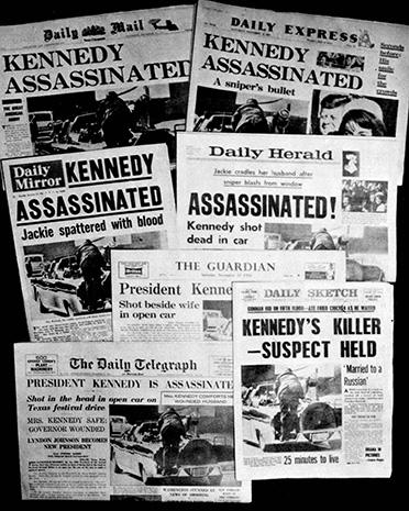 Kennedy anniversary - JFK assassination: World reaction ...