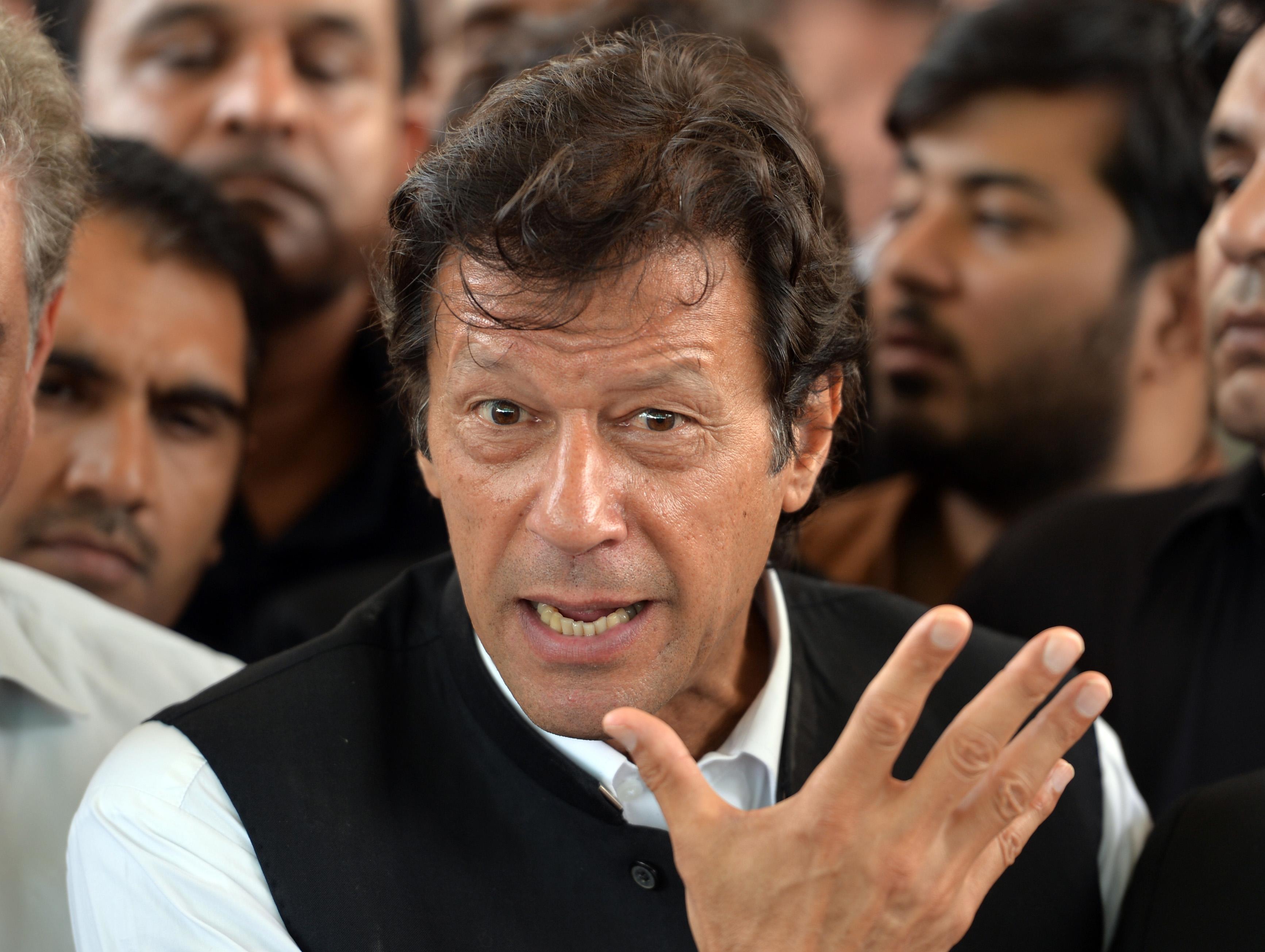 Pakistan Politician Imran Khan Threatens To Block Key U.S