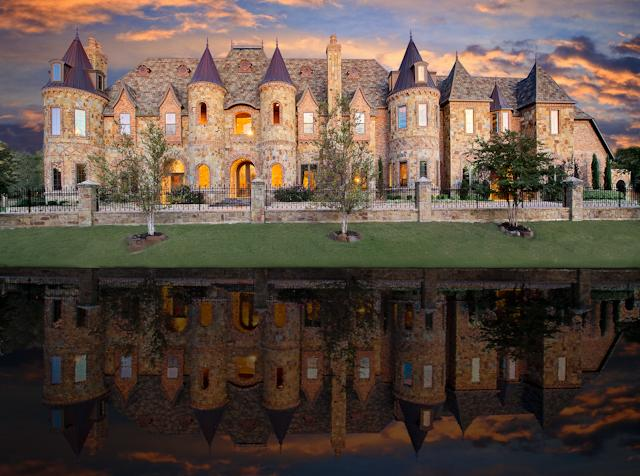 10 castle homes fit for royalty cbs news Castle home