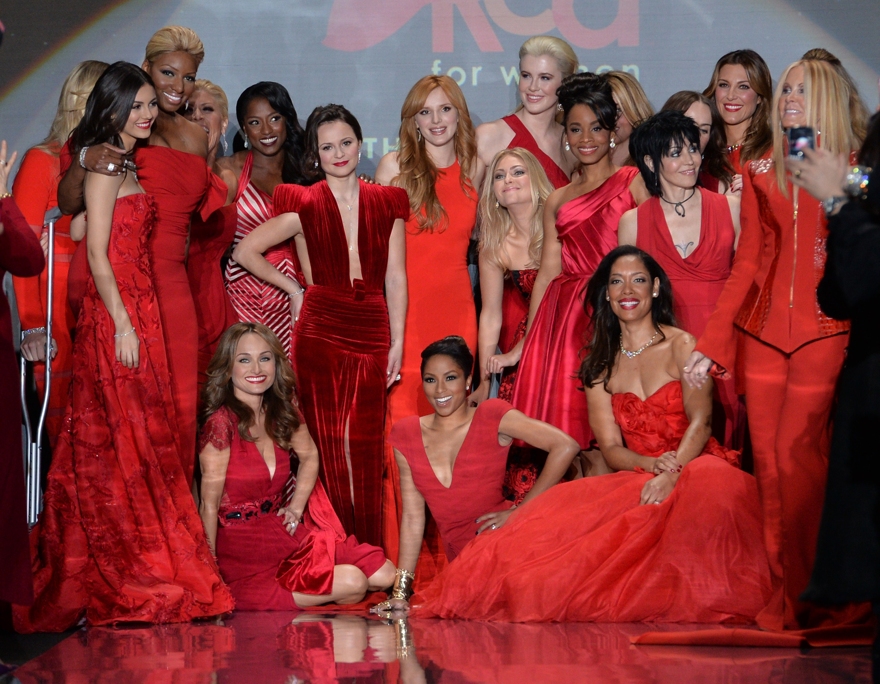 On the Runway - Red Dress Collection fashion show 2014 - Pictures ...