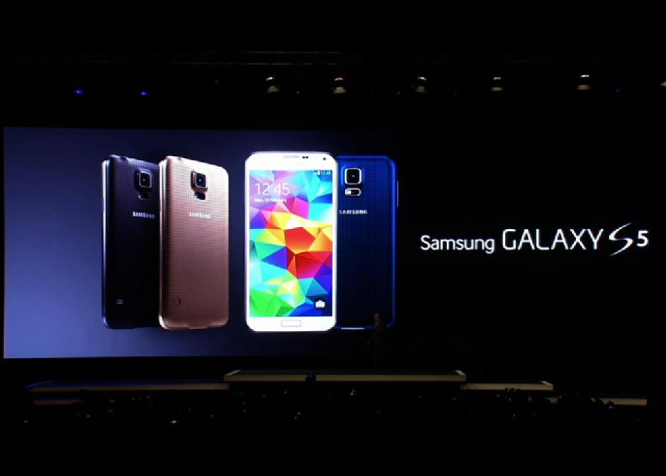 Samsung Unveils Galaxy S5 Phone With Fingerprint Sensor