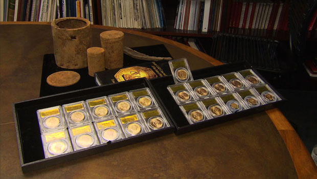 China S Latest Export Boom Fake Gold Coins Cbs News