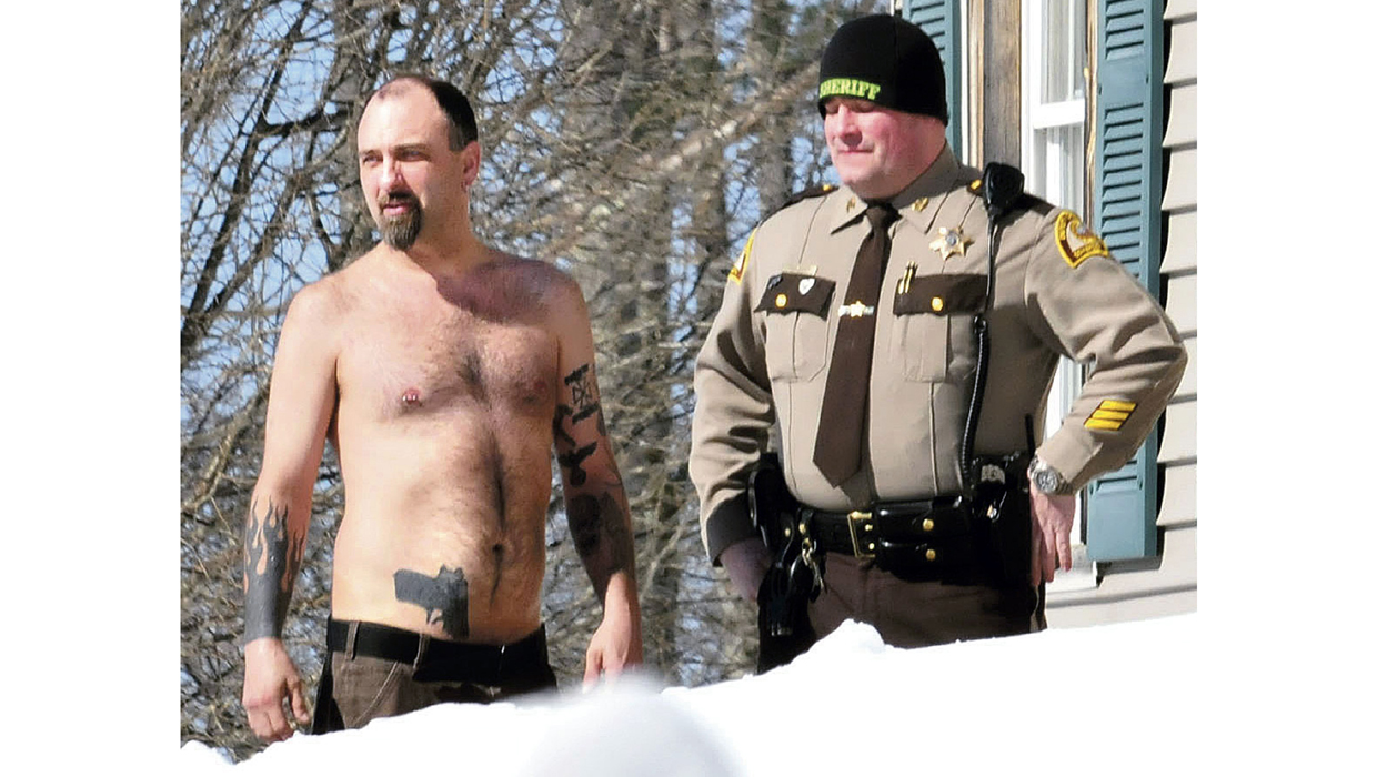Maine man 39 s gun tattoo leads to encounter with police for Tattoo removal maine