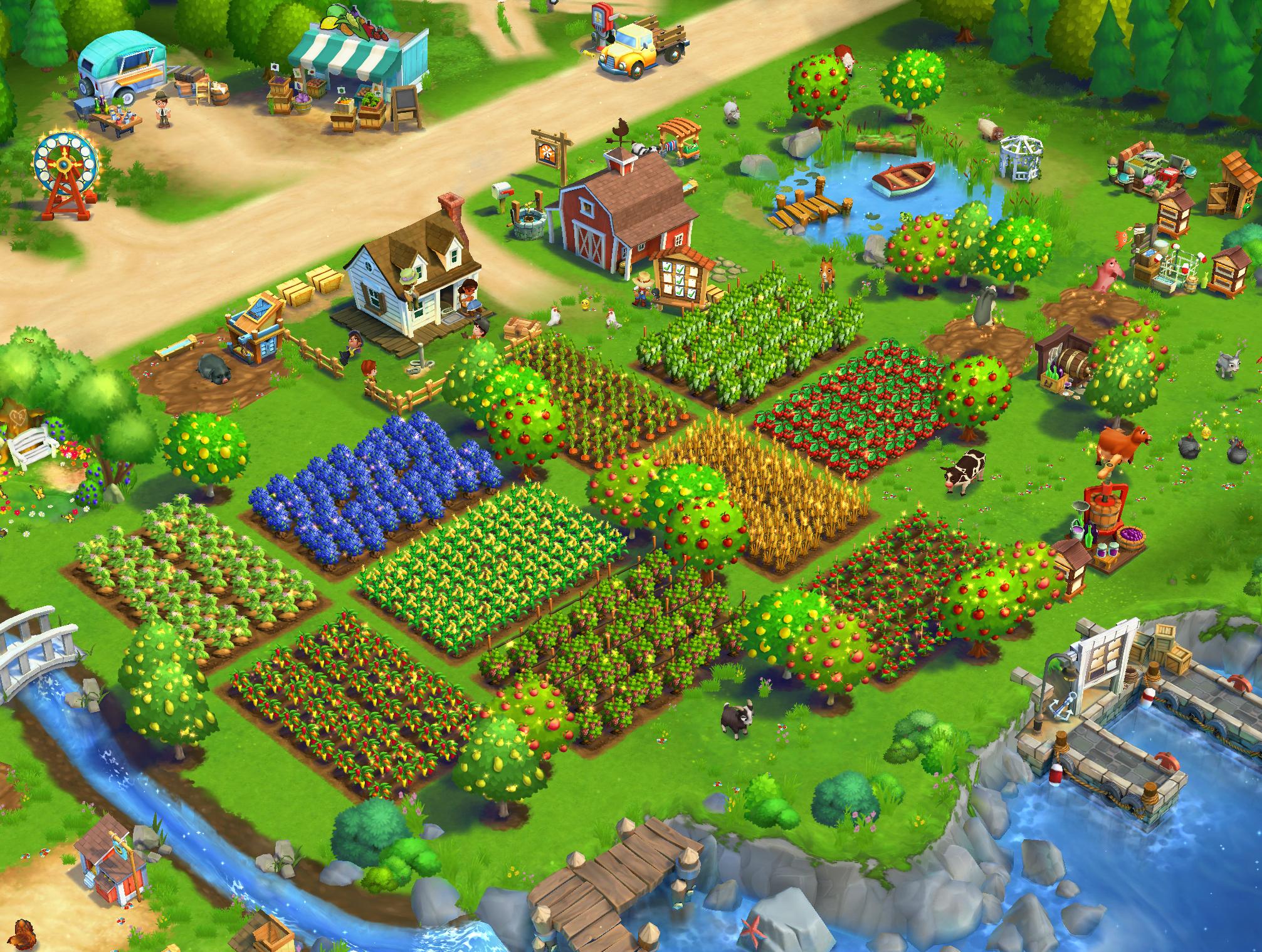 Zynga Games Farmville