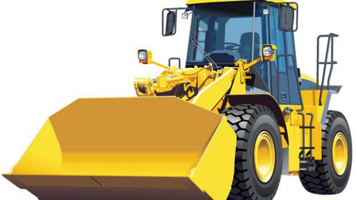 Man On Bulldozer : Cops colorado man damages property in south dakota
