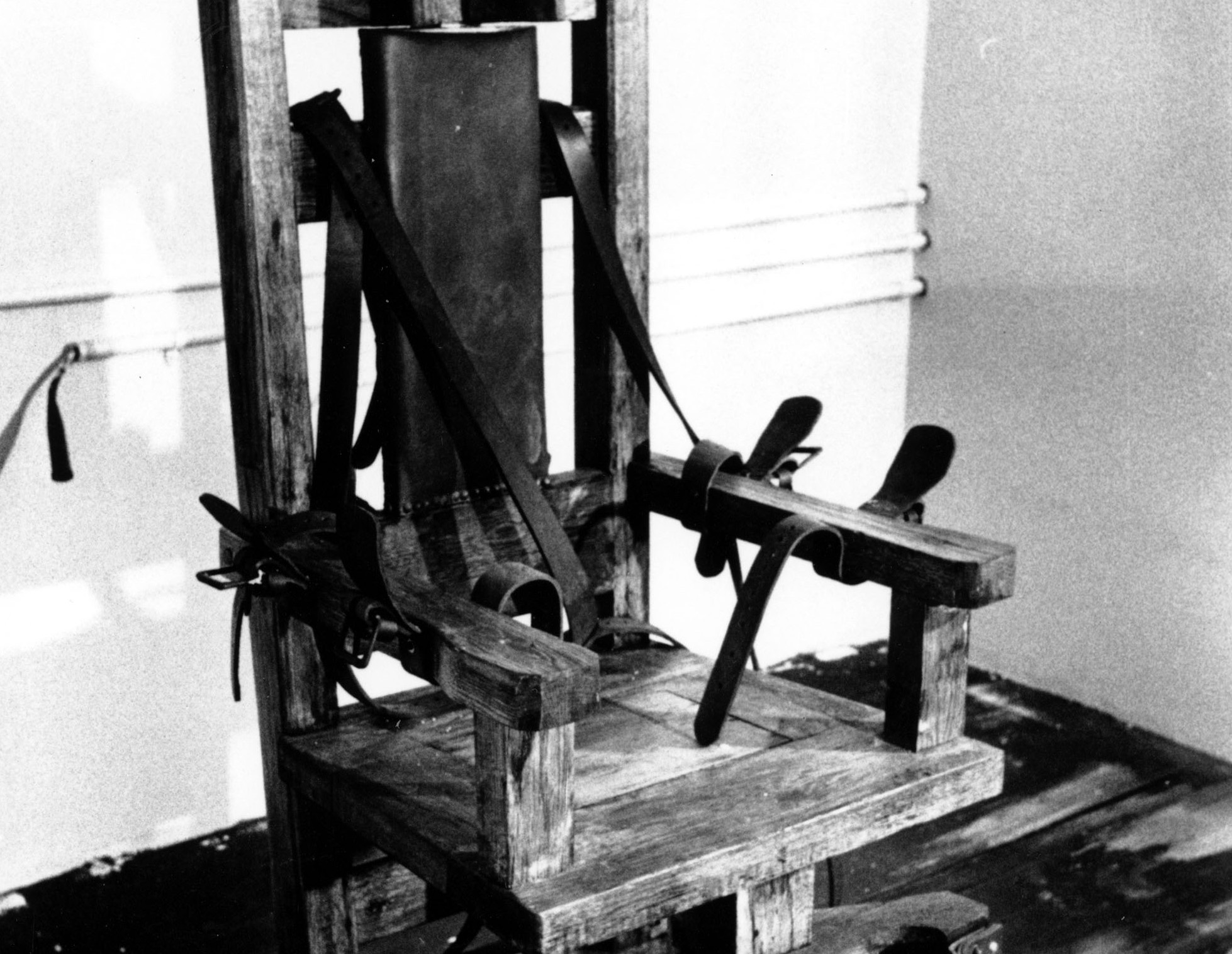 the electric chair I've seen men put to death in the electric chair and by lethal injectioni know which one timothy mcveigh deserves.