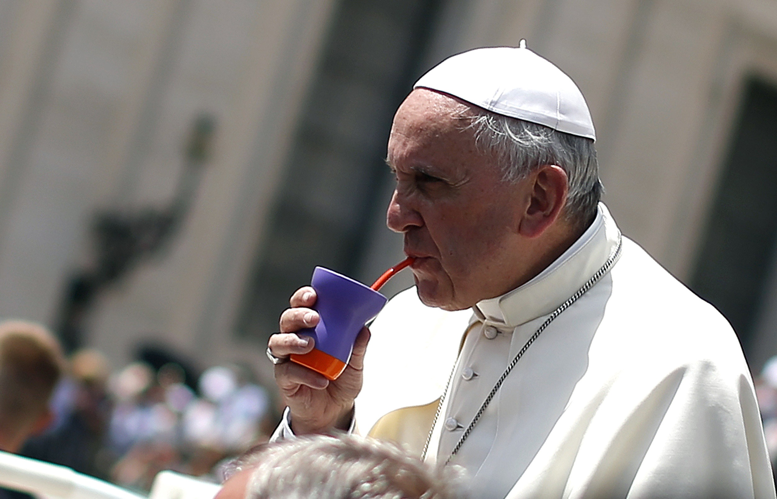 The Pope Is Fine Hes Just Hot Cbs News