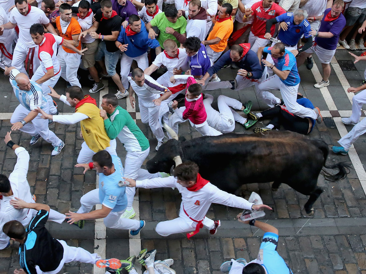 how to run with the bulls