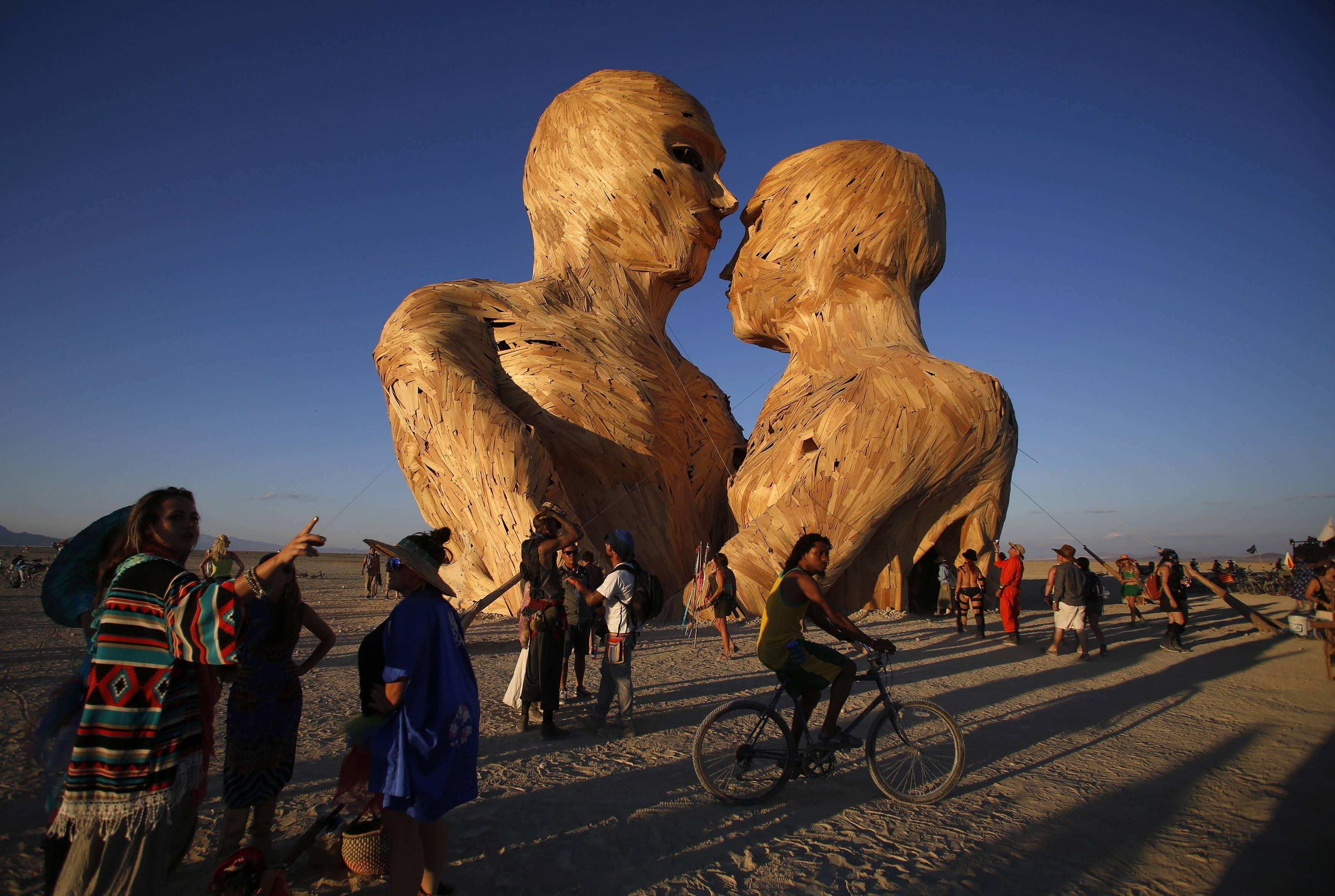 Burning Man Festival Condemns Anti-Palestinian Israeli