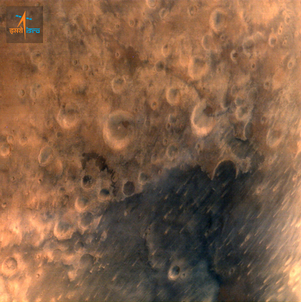 India's space probe sends back first Mars photos - CBS News