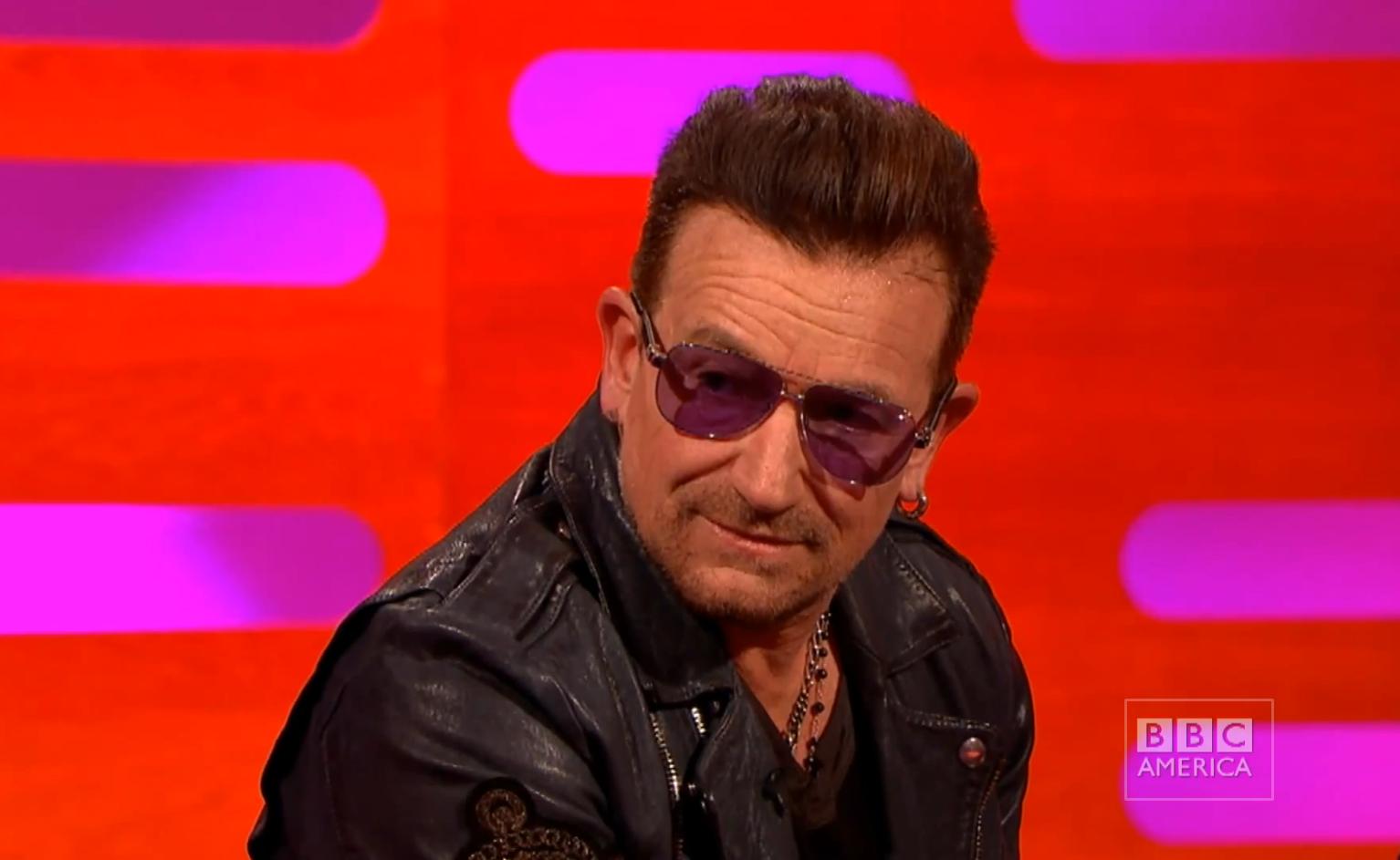 Here's the medical reason Bono always wears sunglasses ...