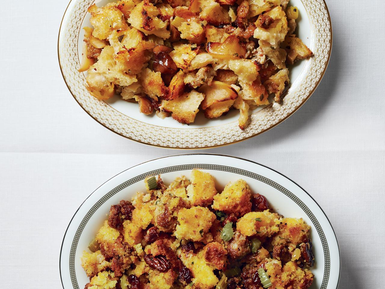 Recipe: Cornbread, Chorizo, Cherry and Pecan Stuffing - CBS News