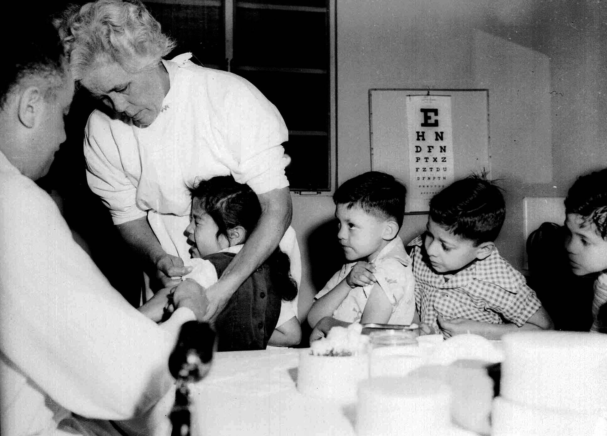 the salk polio vaccine a medical miracle turns 60   cbs news