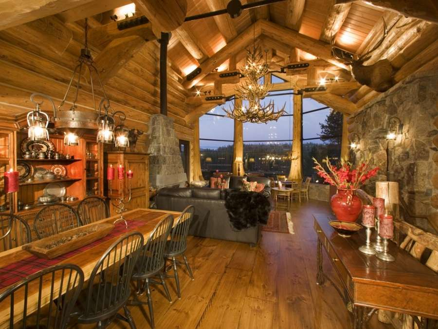 10 luxurious log cabins on the market - CBS News
