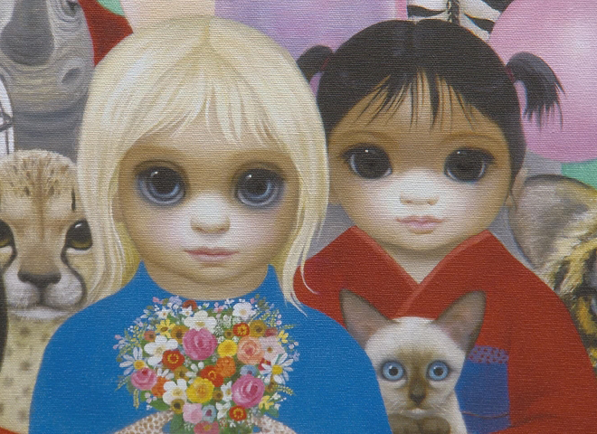 """Here's Looking at You Kids The """"Big Eyes"""" paintings of"""