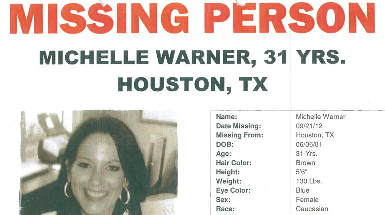 Michelle Warner missing Poster
