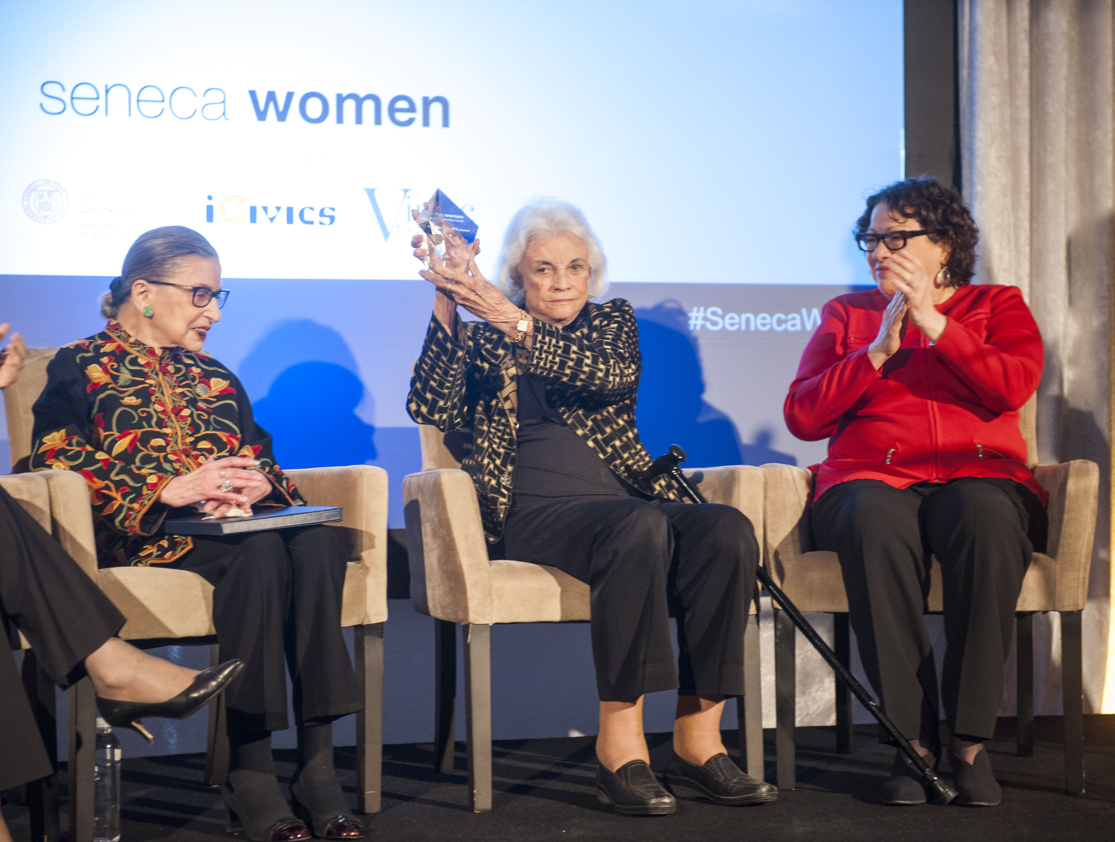 Women of the Supreme Court honor Sandra Day O'Connor