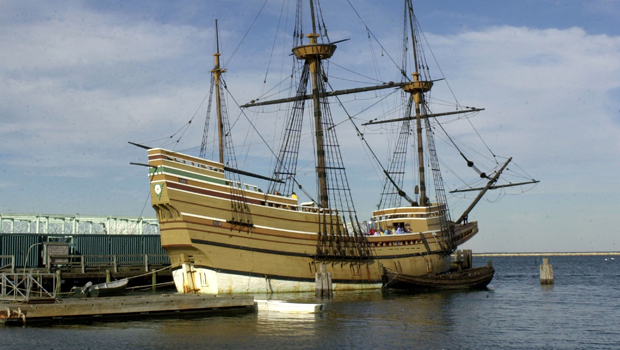 The First Thanksgiviing Tour Of The Mayflower