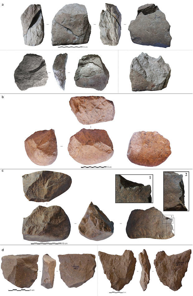 Oldest Stone Tools Nature